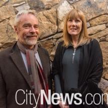 David Newman and Trish Vincent