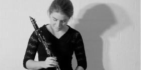 Clarinettist Eloise Fisher.