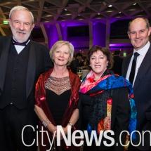 Howard and Carol Kemp, Jenny McKie and Rob Boyes