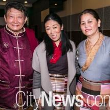 Lama Choedak, Yeshi Choedon and Tsering Khando