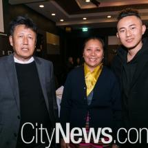 Lampal Lobsang, Kun Sang and Sherab Tenzin