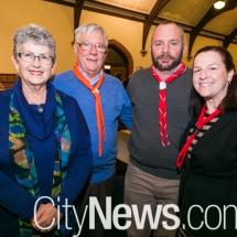 Lois and Richard Cooper and Angus and Lauren Macdonald