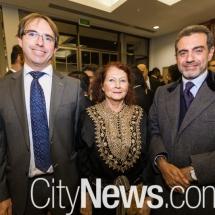Luciano de Andrade, Myrian Amar and Pier Gentile