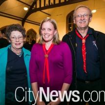 Maria Stock, Sophie Green and John Feint