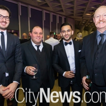 Michael Pasqualone, Frank Farfalla, Amit Oberoi and Grahame Dickson