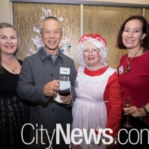 Peta York, Dr Gus Oong, Gaye Piper and Angela Drayton