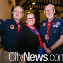 Rick Goode, Katrina Nash and David Cossart