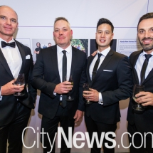 Robert Vine, Matthew Selems, Bruce Ong and George Nicolaou