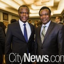 Samuel Kumah and Munyasya Mwangangi