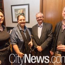 Shireane McKinnie, Nicole Quinn, Drew McKinnie and Andrew Quinn