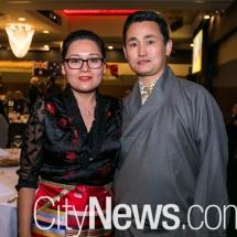 Sonam Chhukyi and Tenzin Sonam