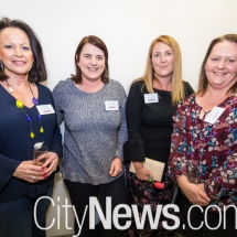 Sue Higgins, Libby Tuohy, Amber Pascoe and Kate Black