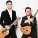 "Brothers Leonard, left, and Slava Grigoryan… ""Slava and me grew up listening to classical guitar, electric guitar – everything,"" says Leonard.  Flamenco guitar master Paco Peña."