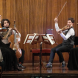The Haydn Ensemble at the Great Hall, University House. Photo by Peter Hislop