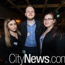 Amelia Stevenson, Jadon Dutfield and Heather Clarke