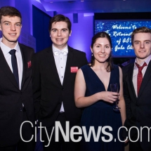 Andrew Giumelli, Bryce Cronin, Emily Wheatley and Stewart Weigand