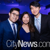 Andrew Wong, Bec Cheng and Aaron Chuah
