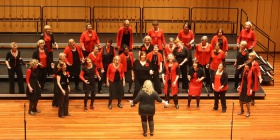 Brindabella Chorus singing in the 2016 Australian Open Choral Challenge