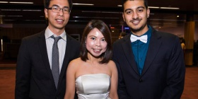 Dominic Chin, Clarice Poh and Shubham Kandel