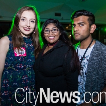 Emily O'Neal, Samantha Kumar and Anith Chand