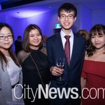 Grace Han, Trisha Tan, Rex Li and Lu Zheng