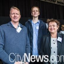 Graham, Connor and Jody Turner