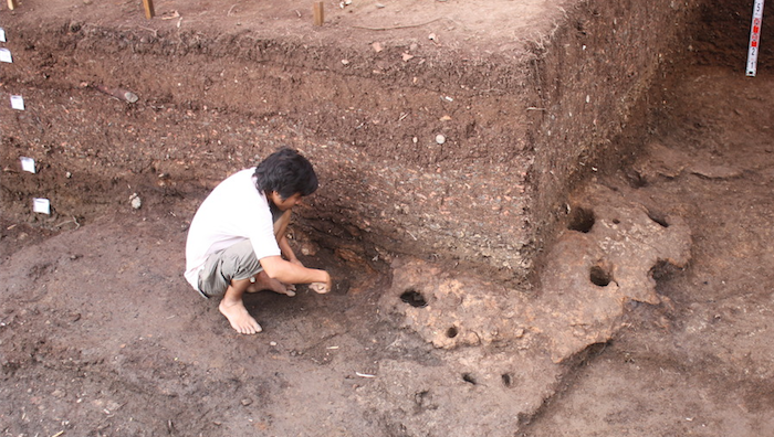 Rach Nui under excavation. Photo provided by ANU.