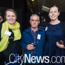Jess Shute, Tony Carbone and Therese Kelly