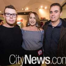 Jordan Lightfoot, Hannah Amelia and Felix Broue