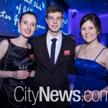 Laura Mackay, Andrew Giumelli and Erinn O'Brien
