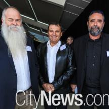 Mark Dymock, Nick Foder and David Curtain