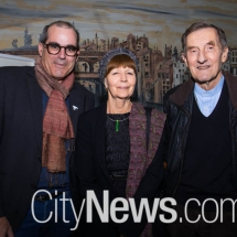 Neil Hobbs, Bernice Murphy and Leon Paroissien