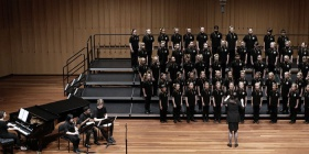 Photo of ACT Primary Schools Choir in previous 12 Years and  Under Championship, by Peter Hislop.