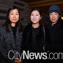 Rachel Holloway, Jungha Park and So-Mi Lee