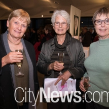 Robyn Vincent, Magda Gustin and Anne McCarthy