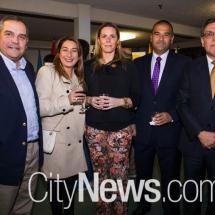 Rodrigo Penaranda, Gloria Leon, Carla Schnettler, Felipe Orellana and Gino Arciniega