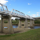 Tharwa Bridge... closed weekdays until October 19.