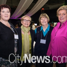 Victoria Oakden, Carol Eason, Cassie Furnell and Kay Murphy