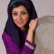 Once banned in Iran, Zahra Ranjpoor  is a daf (hand drum) player.
