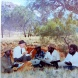 Albert Namatjira, artist Rex Battarbee and Namatjira family, Photo Courtesy Gayle Qarmby
