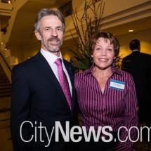 Andrew Rowe and Sonja Jacobsen