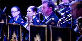 Band of the Royal Military College… at Llewellyn Hall, Saturday, October 7.