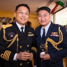 Captain Pitak Niyaso and Goh Ling Boon
