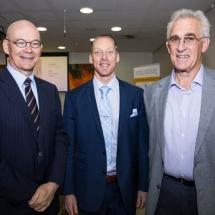 Chris Seed, Joel Gordon and Richard Hart