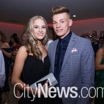Emma Van Der Hoek and Callum Davies
