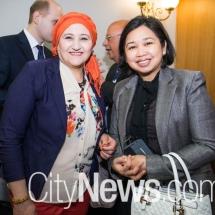 Faeza Beenghali and Nina Padilla Cainglet