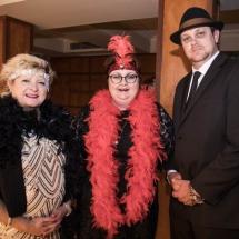 Jenny Farrell, Karen Gibson and Wayne Farnham