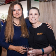 Jill Teague and Angela DeFrias