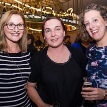 Kate Usher, Kerensa Benson and Alexandra Collins