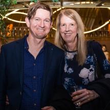 Kim Hogan and Paul Shields